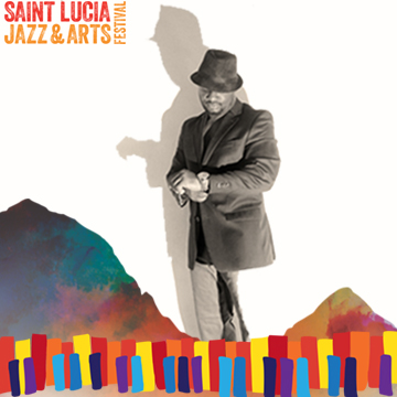 """Irvin """"Ace """" Loctor Performing at Saint Lucia Jazz and Arts Festival 25th Anniversary 2016"""