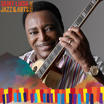 George Benson Performing at Saint Lucia Jazz and Arts Festival 25th Anniversary 2016