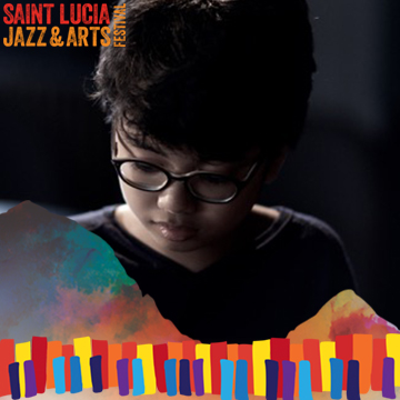 Joey Alexander Performing at Saint Lucia Jazz and Arts Festival 25th Anniversary 2016