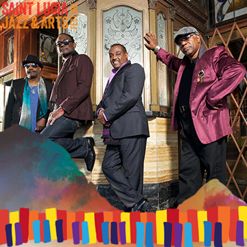Kool and The Gang Performing at Saint Lucia Jazz and Arts Festival 25th Anniversay 2016